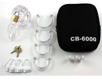 CB 6000 Male Chastity Cage Device