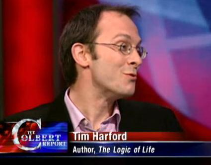Colbert Report: Tim Hartfod Discussing Common Sense
