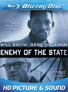 Enemy of the State (1998) Blu Ray Starring Will Smith