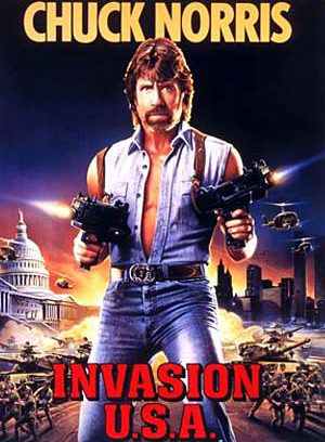 Invasion USA (1985) Starring Chuck Norris on DVD