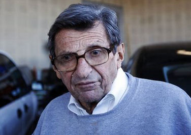WHY DOES JOE PATERNO WEAR SEX