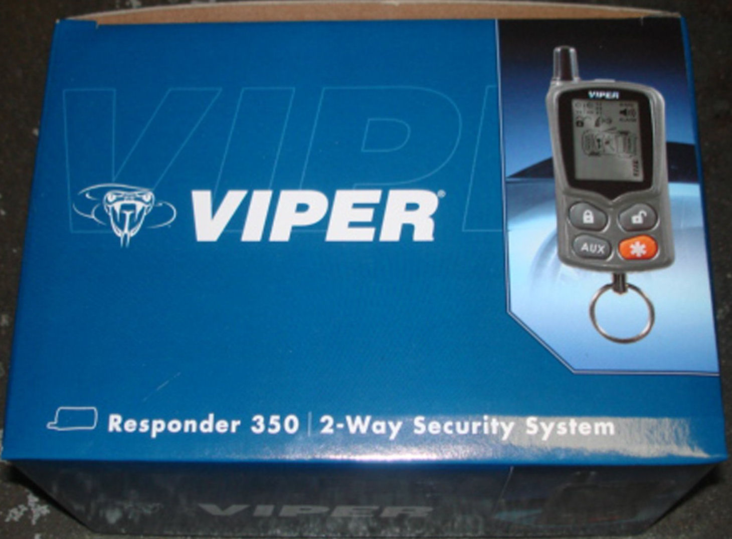 Viper 350 Responder Vehicle Alarm and Keyless Entry System
