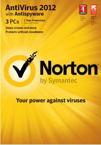Norton Antivirus 2012 with Antispyware