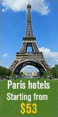 Cheap Hotel Rooms in Paris, France