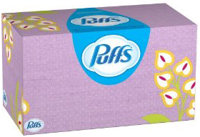 24 Boxes of Puffs Basic Facial Tissues