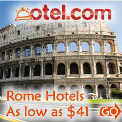 Cheap Hotels Available in Rome
