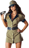 Sexy Border Patrol Halloween Costume