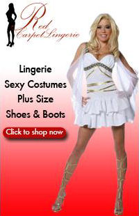 Sexy Halloween Costumes and Lingerie