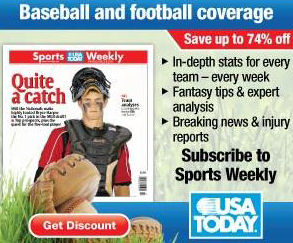 Subscribe to Sports Weekly from USA Today