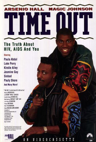 Time Out with Magic Johnson and Arsenio Hall Movie Poster